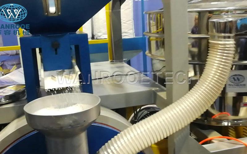 PNMF磨粉机试机,塑料磨粉机,PP磨粉机
