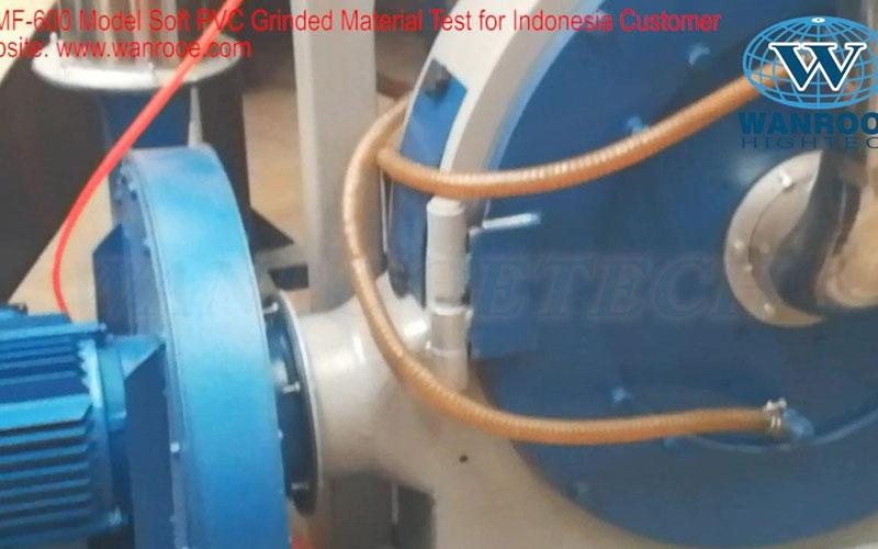 软PVC塑料磨粉机
