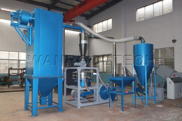PVC 磨粉机脉冲除尘  南非线